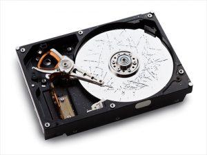 ハードディスク破壊