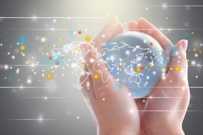 グローバルに点在するデータ