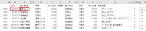弥生会計に自動でエクセルで仕訳データ作成